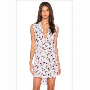 NEW Equipment 100% Silk Floral Signature Dress M